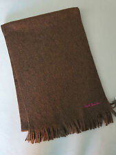 Paul Smith  scarf  100% Pure New Wool - Brown