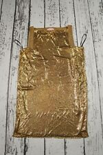 USED VERSACE FOR H&M DRESS GOLD  size 36 US6 UK10