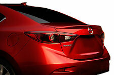 PAINTED MAZDA 3 FLUSH MOUNT FACTORY STYLE REAR WING SPOILER 2014-2016