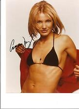 Very hot signed Photo of Cameron Diaz Original Signed Photo With C.O.A