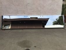 """FREIGHT LINER CLASSIC Texas Square  CHROME STEEL BUMPER 21"""" ROLLED END"""
