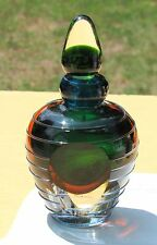 Substantial Sizeable Murano Glassware Sommerso Perfume Bottle Glass Stopper