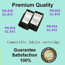 3 x Canon Ink Cartridge 2xBK+1xColour  PG512 CL513 for MP495 MP499 MX320 Printer