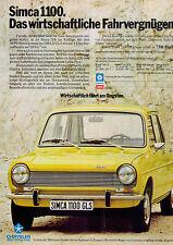 Simca-1100-1974-III-Reklame-Werbung-vintage print ad-Vintage Publicidad