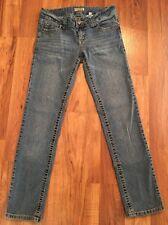 Paris Blues Skinny Fit Stretch Denim Light Blue Jeans Size 9 Low Rise