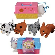 My Little Pet Carry Case Small Kids Cage Carrier Toy Random Animal Supplied New