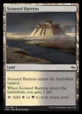 MTG SCOURED BARRENS FOIL  - DISTESE DESOLATE - FRF - MAGIC