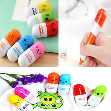 Lovely Learning Working Helper The Cute Capsule Ball Pen With Smilies Top Hot