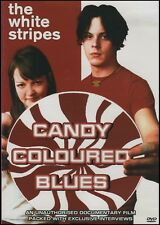 The WHITE STRIPES - CANDY COLOURED BLUES - Music Documentary Film DVD NEW SEALED
