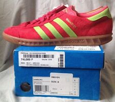 BNWBT RARE DEADSTOCK ADIDAS HAMBURG ADI COLOURWAY RED & GREEN UK 7,5