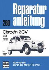 CITROEN 2 CV BIS HERBST 1975 REPARATURANLEITUNG WERKSTATT BUCH NEU !!!