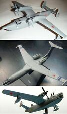 Beriev Be-12 or A-40 or Be-6 Soviet Airplane model DieCast  DeAgostini 52 63 90