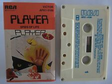 PLAYER SPIES OF LIFE RARE AUSTRALIAN RELEASE CASSETTE TAPE