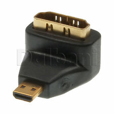 New Standard HDMI to Micro HDMI Extender Adapter 1080P Full HD TV 720P Black