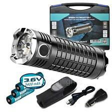 Olight SR MINI II SRMINI 3200 Lumen +3x18650 Battery Intimidator LED Flashlight