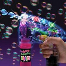 X10 PC BUBBLE GUN SPARATUTTO LUCI LED CON BOLLA libero soluzione 3 + wholeslae