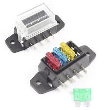 Box Fusibili 4 Vie per A Lama Standard ATO Supporto/Blocco 12v/24v Auto/HGV
