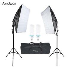 Photograpy Studio Continuous Photo Video Light Softbox Lighting Stand Kit X7I7