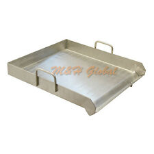 "Heavy Duty 18""x16"" Stainless Flat Top Griddle Grill Plancha Single Burner Stove"