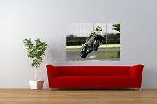 PHOTO SPORT ACTION SHOT VALENTINO ROSSI MOTORCYCLE GIANT ART POSTER NOR0979