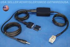 JEEP SMARTPHONE 3.5MM iPOD iPHONE 5 5S 5C 6 8-PIN AUX INPUT 02 03 04 05 06 07 08