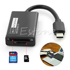 USB 3.1 Type C to Micro SD MMC SDXC TF Card Reader Adapter for Macbook Phone New