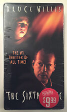 THE SIXTH SENSE VHS 2003 BRUCE WILLIS SHYAMALAN HORROR GHOSTS I SEE DEAD PEOPLE