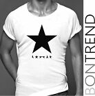 David Bowie t shirt Blackstar 11/01/2016 men's festival top B03