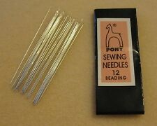SIZE 12 BEADING NEEDLES – 25 PER PACKAGE