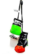 Mexico Mexican Mini Boxing Gloves Car Flag Decoration Mirror Hanging Ornament