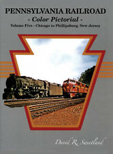 PENNSYLVANIA RAILROAD Color Pictorial: CHICAGO to PHILLIPSBURG, NJ (1940s-1960s)