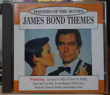 JAMES BOND THEMES MASTERS OF THE MOVIES COMPACT DISC TRD