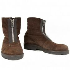 yohji yamamoto pour homme suede leather bore boots Size 8.5(K-6634)