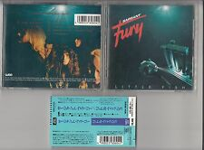 SARGANT FURY - LITTLE FISH CD 1993 JAPAN OBI WMC5-604 WEA MUSIC