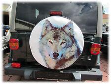 WOLF 2 Reserveradabdeckung Reserveradhülle Reifencover 72X28cm Daihatsu Terios