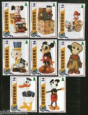 Guyana 1996 Disney's Antique Toys Mickey Minnie Mouse Donald Sc 3098a-h MNH 3003
