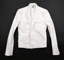 Rare DIOR HOMME SS05 White Military Slim fit jacket Hedi Slimane 46 44 Prototype