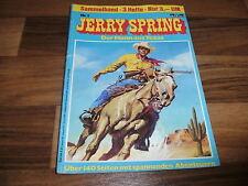 3x  JERRY SPRING  im Sammelband  # 1 von Jije -- Band  1 + 2 + 3