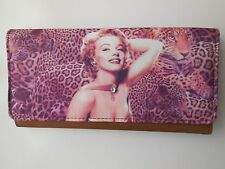 MARILYN MONROE LADIES WALLET PURSE CLASSY DIAMANTES *NEW *GIFT