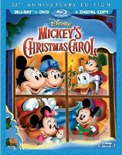 MICKEY'S CHRISTMAS CAROL :Disney 30th Anniversary) Blu Ray - Sealed Region free