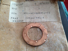 GENUINE SUZUKI A100  GT380  GT200  GT250  GP100   THRUST WASHER   09160-19001