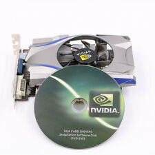 NVIDIA GeForce GT730 4GB DDR5 128Bit PCI-Express Video Graphics Card + CD Driver