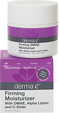 Firming Moisturizer with DMAE, Alpha Lipoic and C-Ester, Derma E, 2 oz