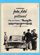 QUATTROR961-PUBBLICITA'/ADVERTISING-1961- MARZOTTO - CONFEZIONI