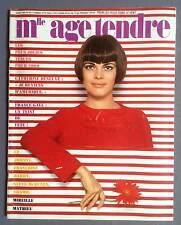 ►AGE TENDRE 50/1969  MATHIEU- VARTAN - SHEILA - DENEUVE - MCQUEEN - GALL - HARDY