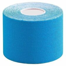 Blue Physiotherapy Tape Sport Physio Remedy Cure Muscle Injury Heath Trendy