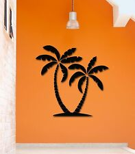 Wall Stickers Vinyl Decal Tropical Palm Trees Recreation Relax (ig798)