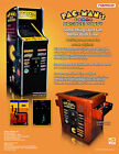 2010 NAMCO PAC-MAN'S ARCADE PARTY VIDEO FLYER MINT