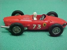 Vintage Lesney Matchbox Ferrari F1 #73 Race Car with Driver rare in this cond.