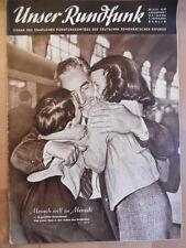 UNSER RUNDFUNK 35 - 1953 Programm: 23.- 29.8. Pferde-Gestüt Graditz FF DABEI